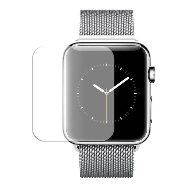 Image of   Apple Watch 38mm - Komplet Beskyttelse Hærdet Eksplosionssikker Panserglas