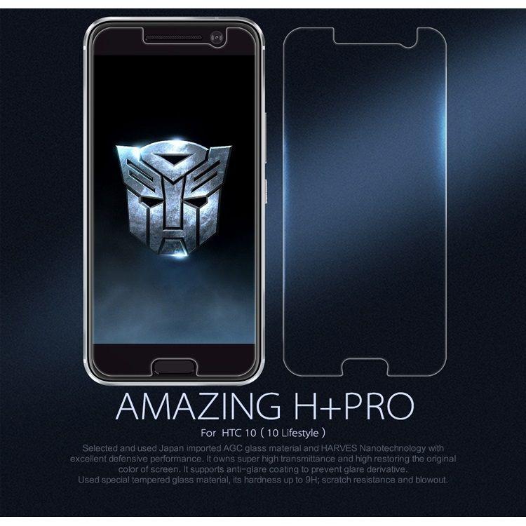 Image of   HTC 10 - NILLKIN Amazing H+ Pro Hærdet Eksplosionssikker Panserglas