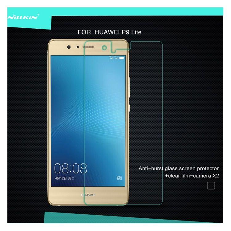 Huawei P9 Lite - NILLKIN Amazing Nanometer Eksplosionssikker Hærdet Panserglas