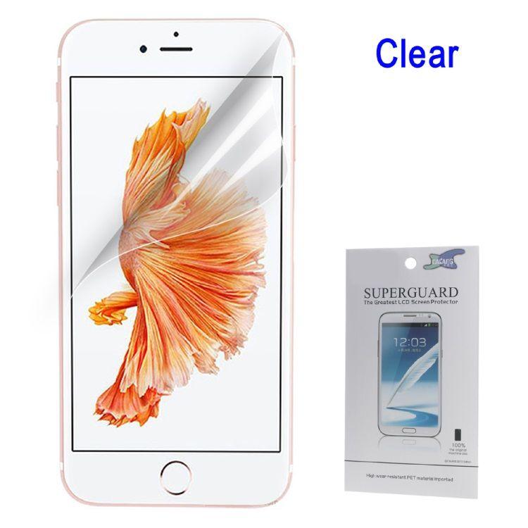 Iphone 8 plus/7 Plus - Klar LCD Beskyttelsesfilm
