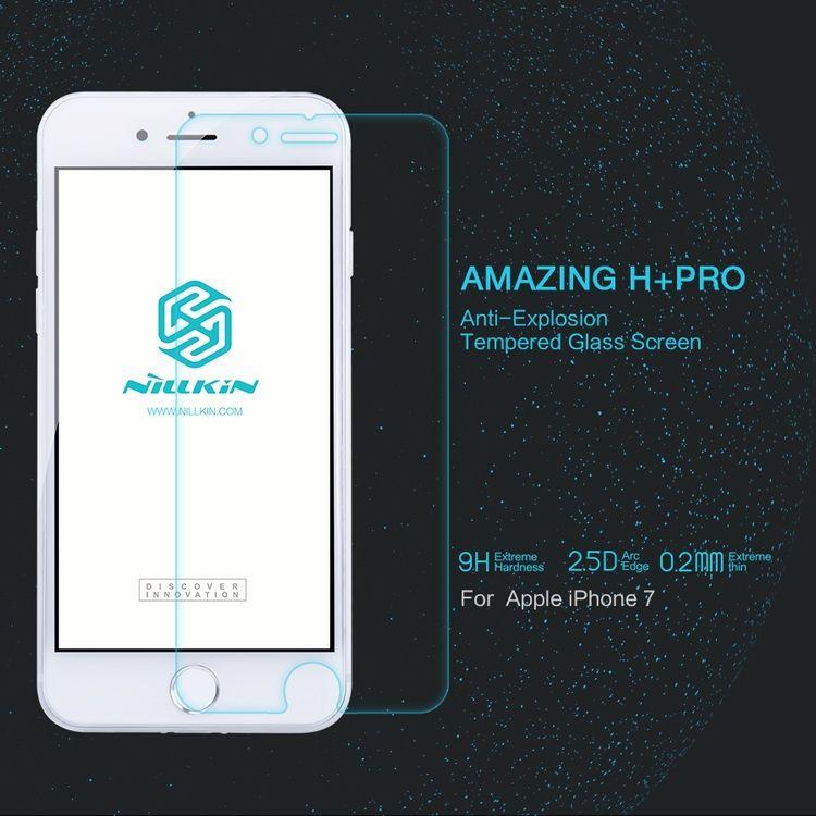 iPhone 8/7 - NILLKIN Amazing H+ Pro Hærdet Panserglas
