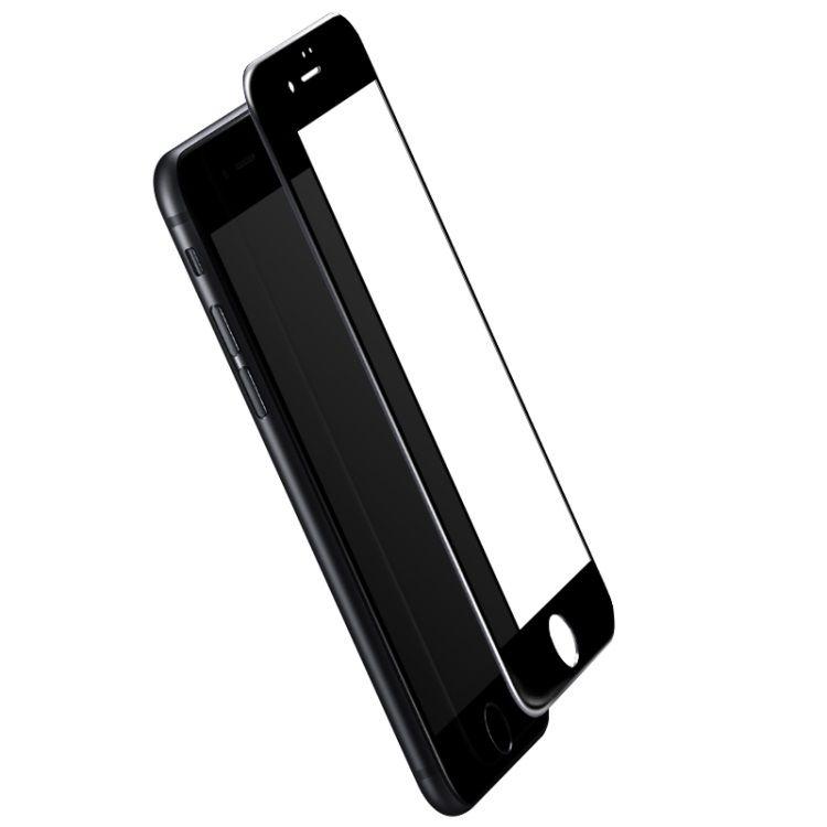 iPhone 7 Plus - ROCK Fuld Beskyttelse Hærdet Panserglas - Sort