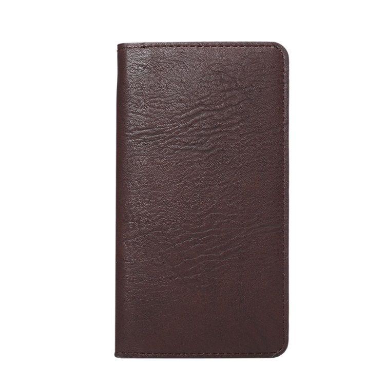 Samsung Galaxy S7 - Elefant Skin Pung PU Læder Lomme Cover - Brun