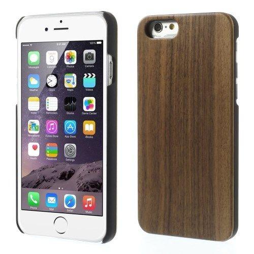 Image of   iPhone 6/6S - Beskyttende Etui lavet af træ - Valnød
