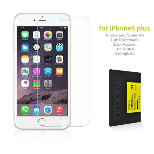 iPhone 6 Plus/6S Plus - AMORUS Hærdet panserglas m/ Arc Edge