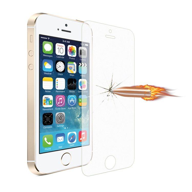 iPhone 5/5s/5c/SE - 0.3mm 2.5D Mat Hærdet Panserglas