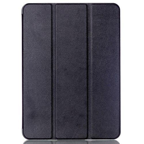 Image of   Galaxy Tab S2 9.7 - Tri-fold Stand Smart PU Læder Etui med Litchi Tekstur - Sort