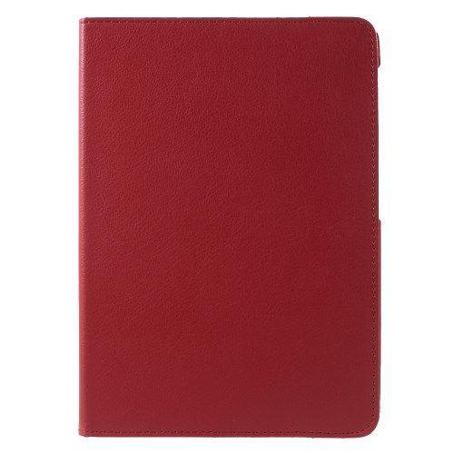Image of   Galaxy Tab S2 9.7 - 360-graders Roterbart Stand PU Læder Cover - Rød