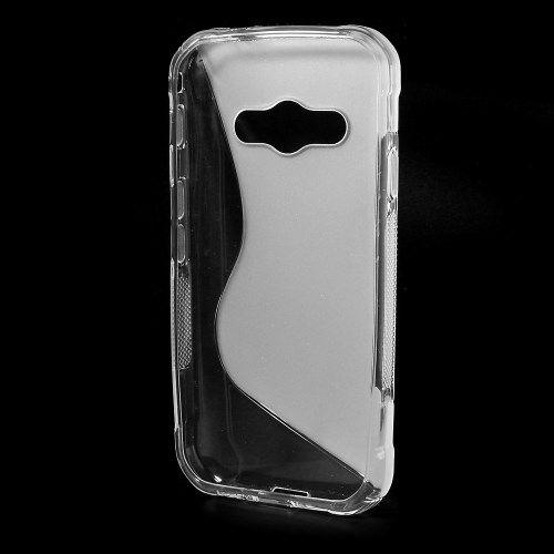 Image of   Galaxy Xcover 3 - S-line TPU Gummi Etui - Transparent