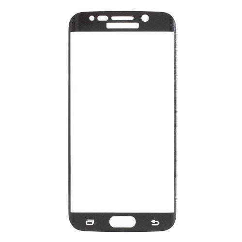 Image of   Galaxy S6 Edge - FEMA panserglas med fuld dækning - Sort