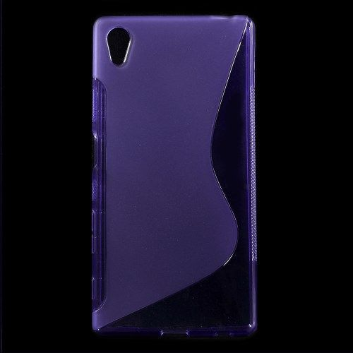 Sony Xperia Z5 / Z5 Dual - S-Line Blødt TPU Gummi Etui - Lilla