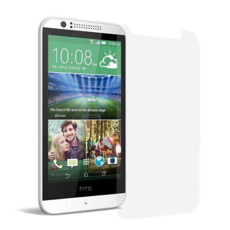 Image of   HTC Desire 510 - Stødsikkert 0.3mm Hærdet Panserglas med Arc Edge