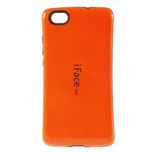 Image of   Huawei Ascend P8 Lite - IFACE PC og TPU Hybrid Etui - Orange