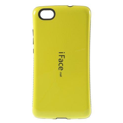 Image of   Huawei Ascend P8 Lite - IFACE PC og TPU Hybrid Etui - Gul