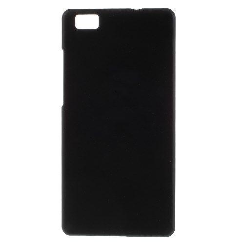 Image of   Huawei Ascend P8 Lite - Gummibelagt plast Etui - Sort