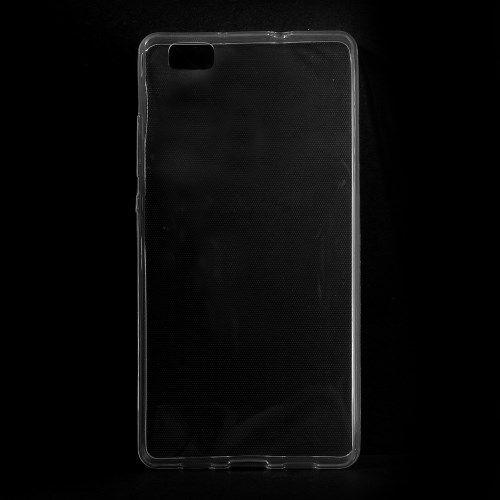 Image of   Huawei P8 Lite - Ultratyndt 0.6mm Blødt TPU Gummi Etui - Transparent