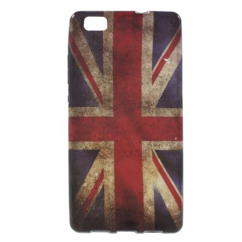 Image of   Huawei Ascend P8 Lite - TPU Shell Cover - Retro UK Flag