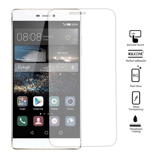 Image of   Huawei Ascend P8 - 0.25mm Hærdet Panserglas med Arc Edge