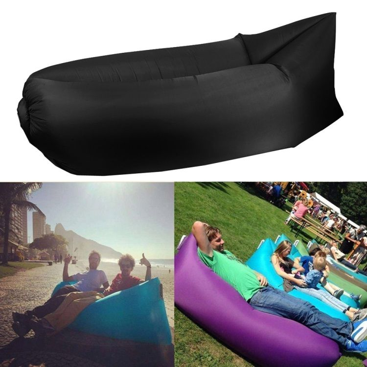 Just Chill - Oppustelig stol / loungesofa / lazy bag - Rød