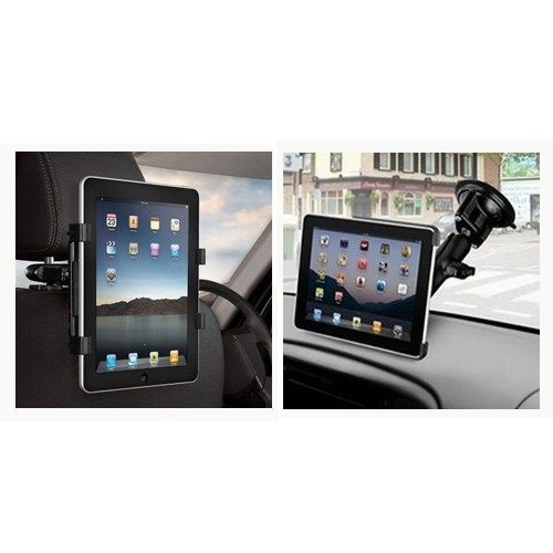 Image of   2 i 1 Multifunktionel Holder til Bilen til iPad/Samsung