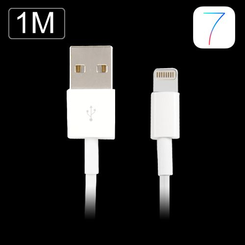 Image of   iPhone 7/7 plus/X/8/8 plus Oplader kabel 1 m
