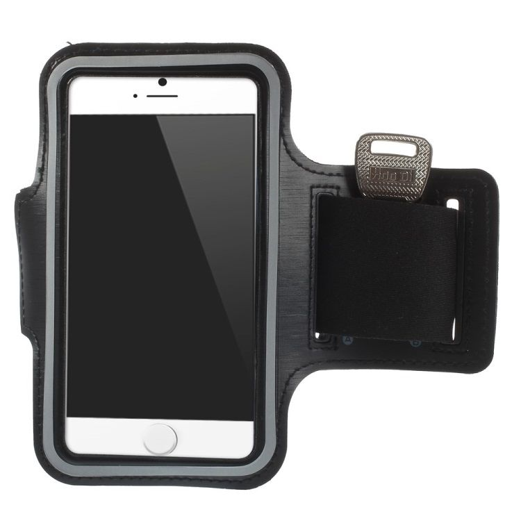 Iphone 6 / 7 / 6s / 7s - Sports/Jogging armbånd - sort