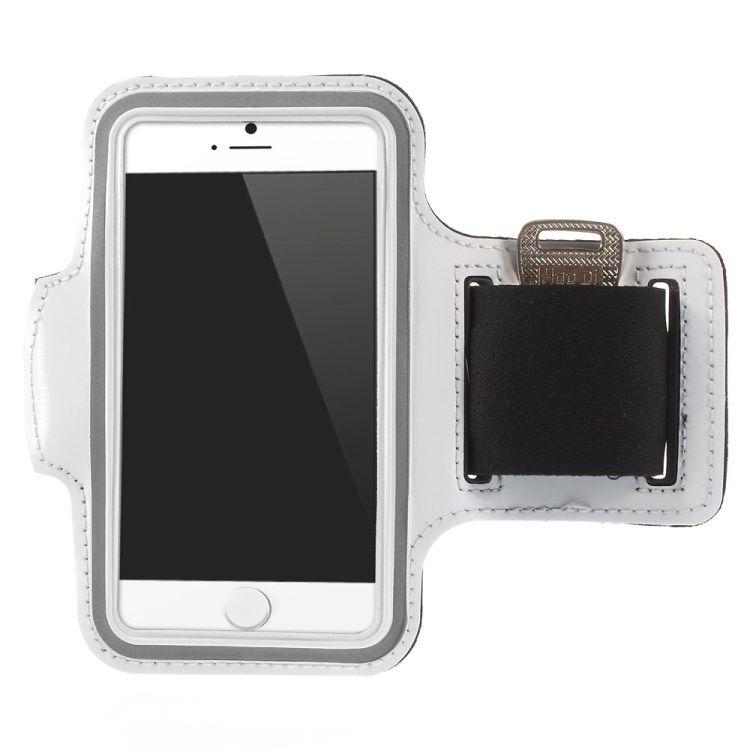 Iphone 6 / 7 / 6s / 7s - Sports/Jogging armbånd - Hvid