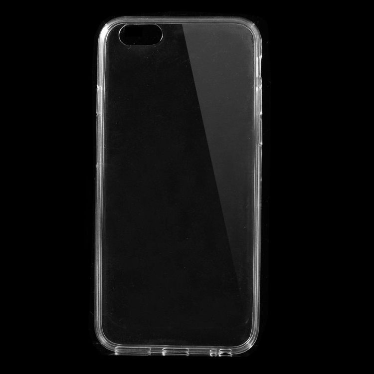Image of   iPhone 6/6s - Ultratyndt 0.5mm Blødt TPU Etui - Transparent