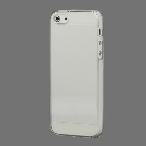 Image of   iPhone 5/5s/SE - Ultratyndt Krystal Hard Etui Cover - Transparent