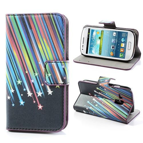 Image of   Galaxy S3 mini - Pung / Etui - Meteorregn