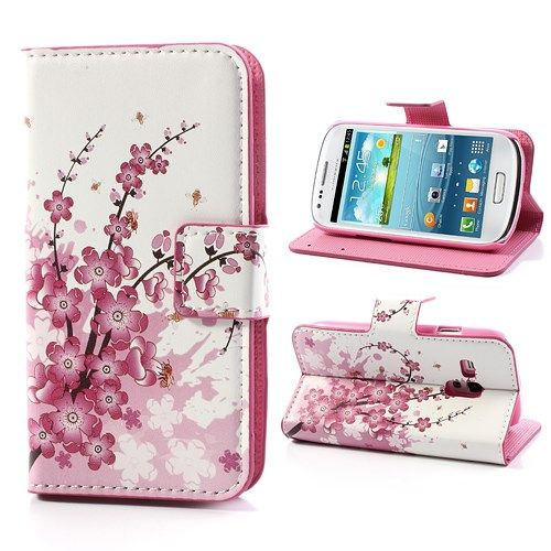 Image of   Galaxy S3 mini - Pung / Etui - Drømmeblomst
