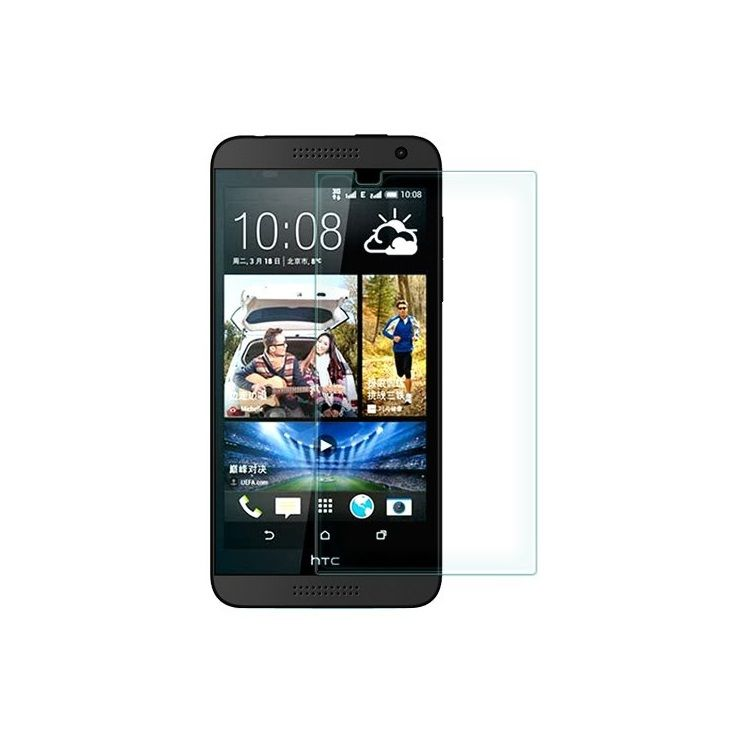 Image of   HTC Desire 610 - 0.3mm Hærdet Eksplosionssikker Panserglas med Arc Edge