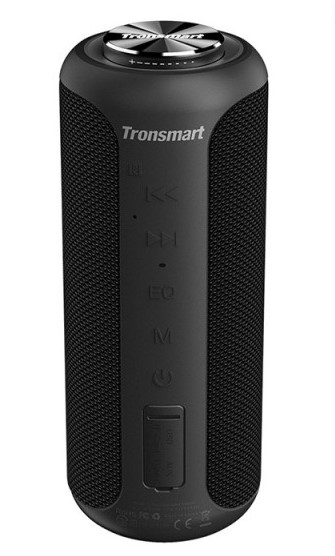 TRONSMART – Element T6 Plus Edition – Deep Bass Trådløs Bluetooth højtaler – Sort