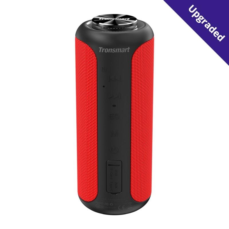 TRONSMART – Element T6 Plus Edition – Deep Bass Trådløs Bluetooth højtaler – Rød
