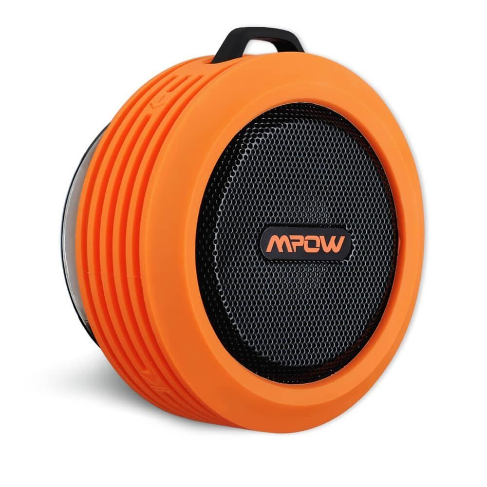 Image of   Buckler Transportabel Vandtæt Bluetooth Højttaler - Orange