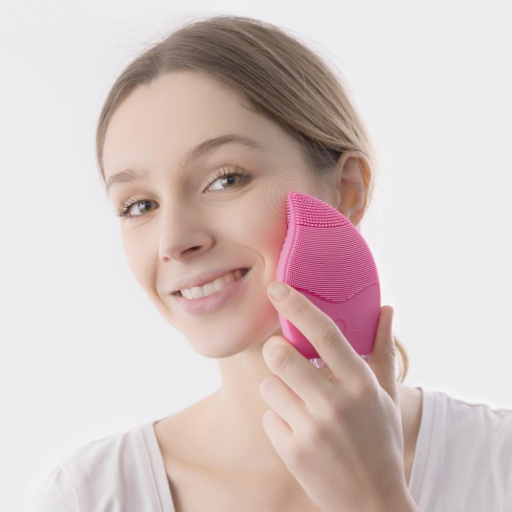 Massage ansigtsrenser i silikone