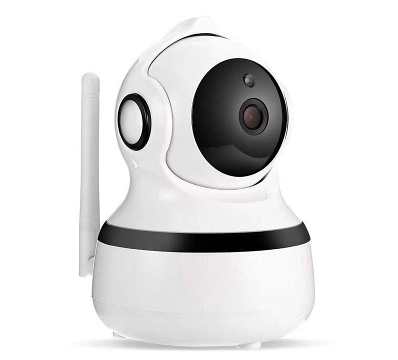 NorthFjords Vision Q11 - Wifi overvågningskamera HD 1080P - 360 grader roterbar med Night Vison