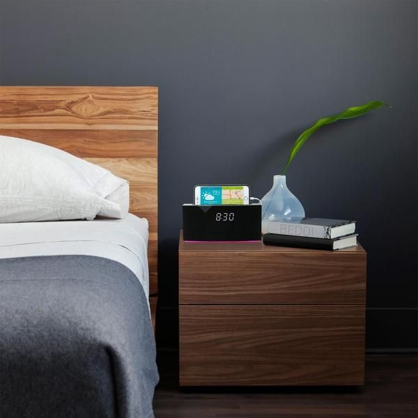 WITTI BEDDI Smart Alarm/Bluetooth Højttaler - hvid
