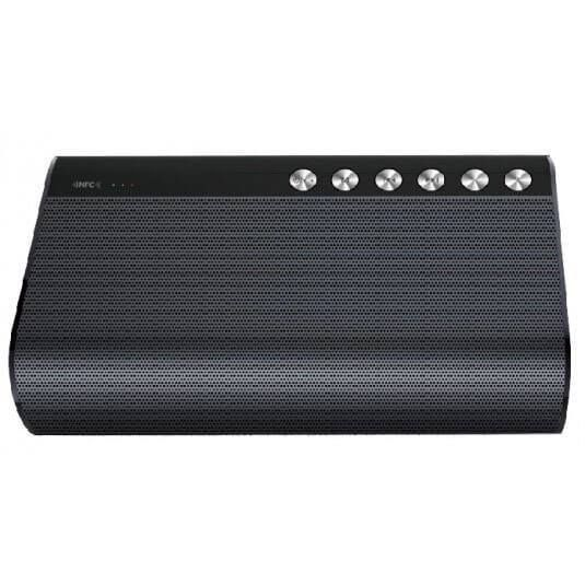 Image of   Power Bluetooth Højttaler m. Powerbank, Sølv